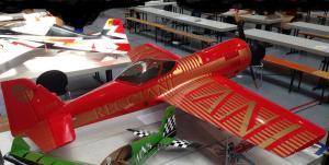 LIONAIR Sukhoi SU-31, 2,7 m Spannweite, flugfertig,Motor 3W 150 ccm Hitec-5945MG